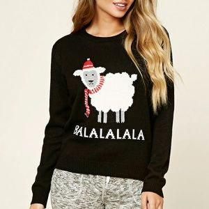 Black Holiday Sweater